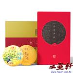 1801 千羽孔雀生茶加星耀亞洲熟茶150克品鑒典藏